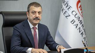 Türkiye Cumhuriyet Merkez Bankası Başkanı Şahap Kavcıoğlu,