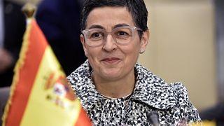 وزيرة الخارجية الإسبانية أرانشا غونزاليس لايا