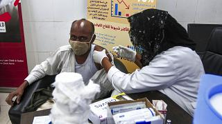 Covid vaccination begins in Sudan's remote northern state