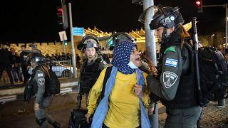 Doğu Kudüs'teki gösteriler