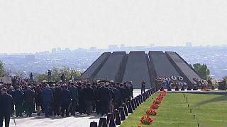 Armenia commemorates victims of Ottoman Empire massacres