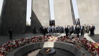 Траурная церемония в Ереване