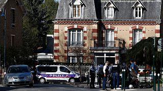 صحنه قتل مامور پلیس زن با ضربات چاقو