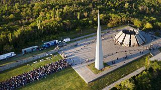 Το μνημείο για τα θύματα της Γενοκτονίας των Αρμενίων στο Γερεβάν