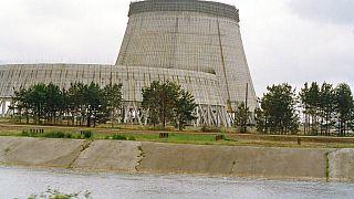Ο τσιμεντωμένος πυρηνικός αντιδραστήρας 4 του Τσερνόμπιλ