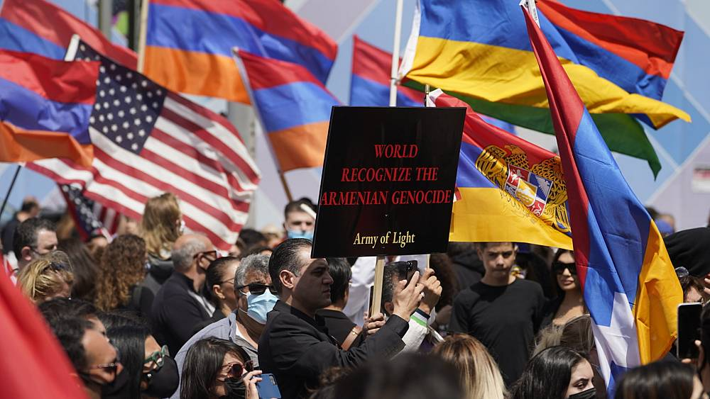 """Armenia welcomes Biden's """"genocide"""" recognition, but it's 'not enough'"""