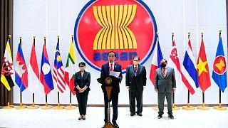 نشست سران کشورهای جنوب شرق آسیا در جاکارتا