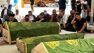 Растёт число жертв пожара в ковидной реанимации в Багдаде