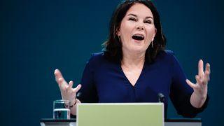 Yeşiller Partisi lideri Annalena Baerbock