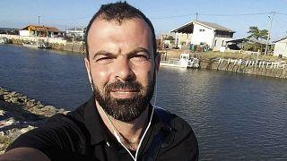 التونسي جمال قورشين الذي قتل ضابطة شرطة في فرنسا في هجوم بالسكين.