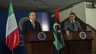 Ο Μάριο Ντράγκι στη Λιβύη