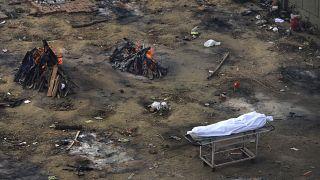 En Nueva Delhi se han incinerado tantos cadáveres de víctimas de la COVID que las autoridades están recibiendo peticiones para empezar a cortar los árboles de los parques.