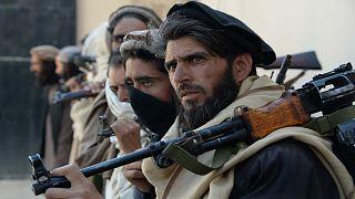 مسلحون ينتمون لحركة طالبان الأفغانية
