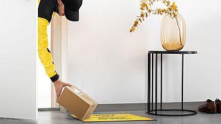 Imagem promocional do novo serviço postal em teste na Áustria