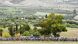 A 2020-as Giro d'Italia mezőnye Szicíliában