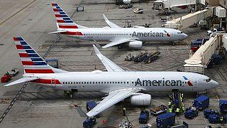 American Airlines gépek Phoenixben