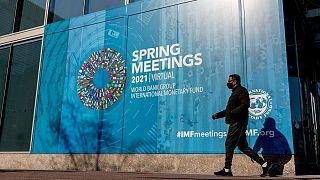 پوستر نشست بهاره صندوق بینالمللی پول و بانک جهانی