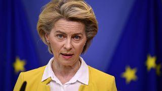 رئيسة المفوضية  الأوروبية، الألمانية أورسولا فون دير لايين
