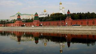 مبنى الكرملين - موسكو روسيا