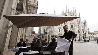 Европейские рестораны ждут посетителей и американских туристов