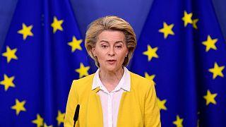 اورزولا فون در لاین، رئیس کمیسیون اروپا