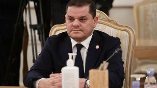 Libya'nın geçici başbakanı Abdulhamid Dibeybe
