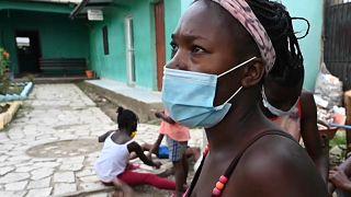 Migratoria haitiana en la localidad hondureña de Trojes