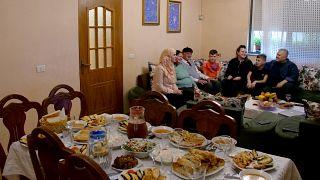 وجبة إفطار خلال شهر رمضان