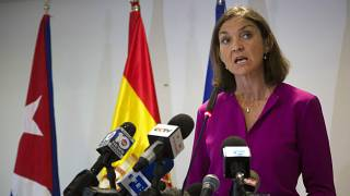 Tourism Minister Reyes Maroto is standing as a candidate in Madrid's regional elections.