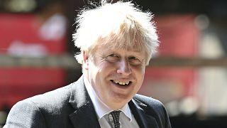 رئيس الوزراء البريطاني بوريس جونسون، 26 نيسان/أبريل 2021