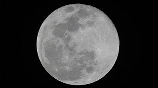 La Lune, vue depuis Les Philippines le 27 avril 2021
