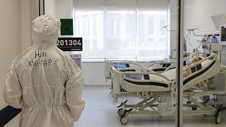 Ankara Şehir Hastanesinin Covid-19 yoğun bakım ünitesi / Arşiv