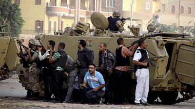 Egypt officials: 9 men executed for 2013 attack on police