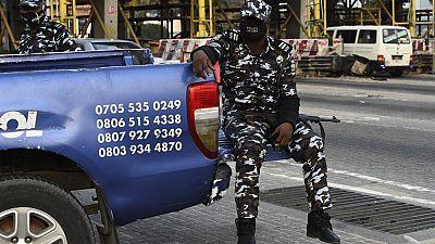 Nine policemen killed by unidentified gunmen in Nigeria
