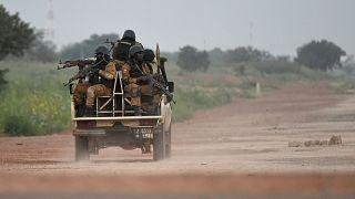 قوات في بوركينا فاسو