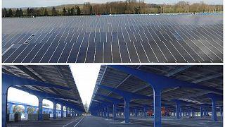 Napelemek lesznek 9 ezer autó parkolóhelyének megfelelő területen