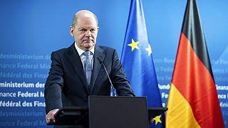 Almanya Maliye Bakanı Olaf Scholz.