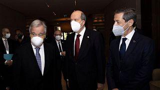 BM Genel Sekreteri Antonio Guterres, KKTC Cumhurbaşkanı Ersin Tatar