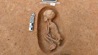 یکی از ۱۱۰ قبر باستانی کشفشده در مصر