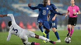 Eder Militao (Real Madrid) gegen N'Golo Kante (Chelsea)