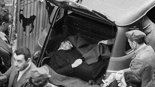 9 maggio 1978: il ritrovamento del cadavere di Aldo Moro, ucciso dalle Brigate Rosse