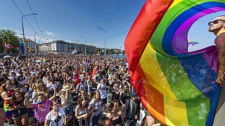 Felvonulás az egyenlő jogokért, 2019, Genf, Svájc
