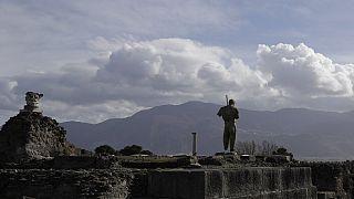 Una foto d'archivio del Parco Archeologico di Pompei