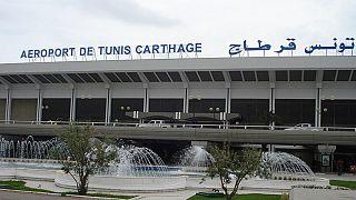 مطار قرطاج الدولي في العاصمة تونس