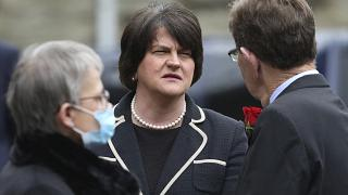 First Minster of Northern Ireland Arlene Foster on Aug. 5, 2020.