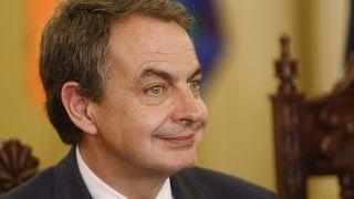 El expresidente del Gobierno español José Luis Rodríguez Zapatero en una imagen de archivo.