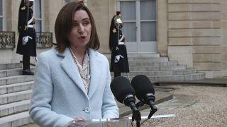 Maia Sandu, Präsidentin der Republik Moldau