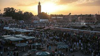 Archivbild des Jemaa el-Fnaa-Platzes vom 5. November 2016