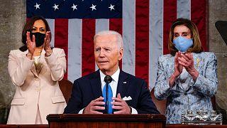 جو بایدن در کنگره آمریکا
