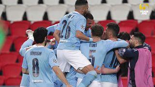 Manchester City beats PSG to grab Champions League advantage